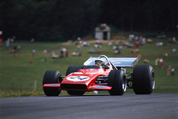 Silvio Moser, Bellasi F1 70 Ford.