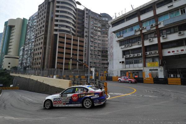 2013 World Touring Car Championship. Round 12 - Circuit de Guia, Macau, China. Sunday 17 November 2013. Race1, Franz Engstler (DEU) BMW E90 320 TC, Liqui Moly Team. World Copyright: XPB Images / LAT Photographic. ref: Digital Image PHOTO4_560424