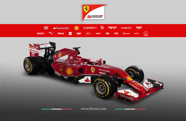 Ferrari F14 T Online Launch Images 25 January 2014 Photo: Ferrari (Copyright Free FOR EDITORIAL USE ONLY) ref: Digital Image 140001eve