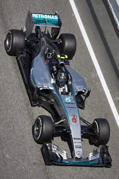 Circuit de Catalunya, Barcelona, Spain. Friday 8 May 2015. Nico Rosberg, Mercedes F1 W06 Hybrid. World Copyright: Steve Etherington/LAT Photographic. ref: Digital Image SNE19642