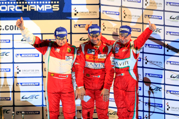 Spa Francorchamps, 3rd-5th May 2012,Perazzini/Cioci/Griffin - AF Corse Ferrari 458 ItaliaWorld Copyright: Jakob Ebrey/LAT Photographic