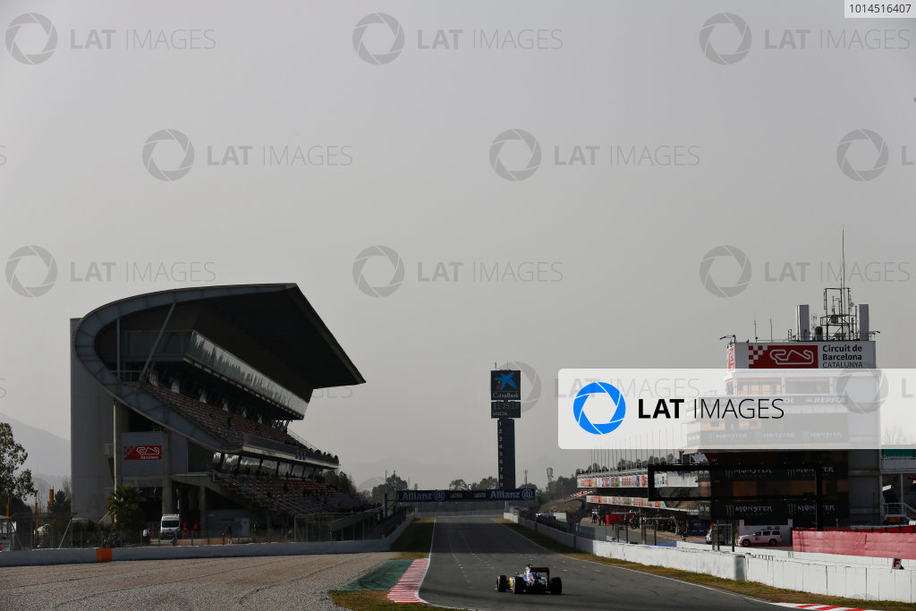 Circuit de Catalunya, Barcelona, Spain Tuesday 23 February 2016. Marcus Ericsson, Sauber C35 Ferrari. World Copyright: Alastair Staley/LAT Photographic ref: Digital Image _79P0136