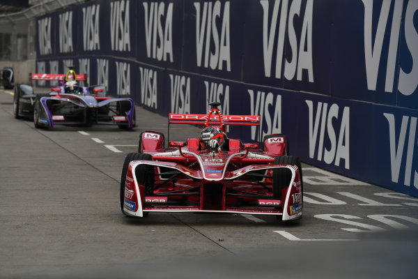 2017/2018 FIA Formula E Championship. Round 1 - Hong Kong, China. Saturday 02 December 2018. Jerome D'Ambrosio (BEL), Dragon, Penske EV-2. Photo: Mark Sutton/LAT/Formula E ref: Digital Image DSC_8334