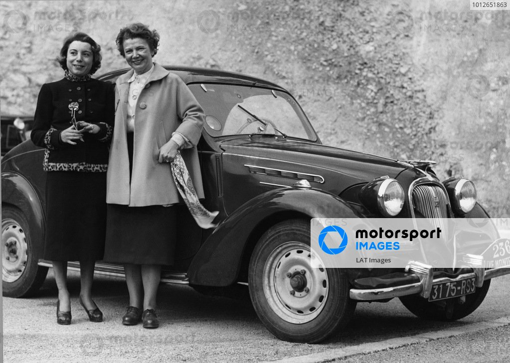 1950 Monte Carlo Rally.