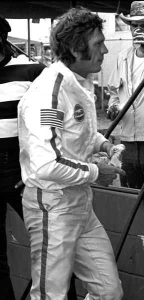 Sebring, Florida, USA.21 March 1970.Steve McQueen (Porsche), 2nd position.Ref-2925/17.World - LAT Photographic