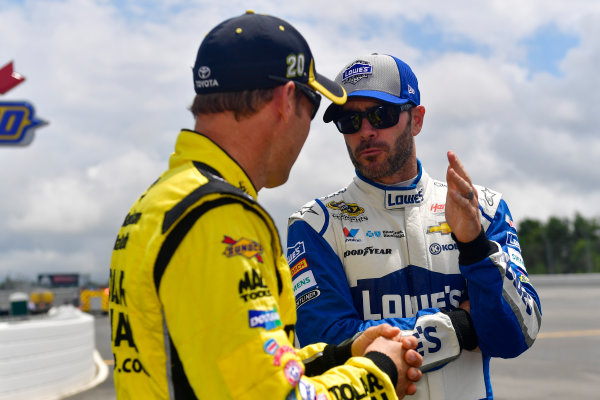 29-31 July, 2016, Long Pond, Pennsylvania USA Jimmie Johnson, Matt Kenseth, Dollar General Toyota Camry ?2016, Logan Whitton  LAT Photo USA
