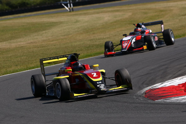 2016 BRDC F3 Championship, Snetterton, Norfolk. 6th - 7th August 2016. Quinlan Lall (USA) Chris Dittmann Racing BRDC F3. World Copyright: Ebrey / LAT Photographic.