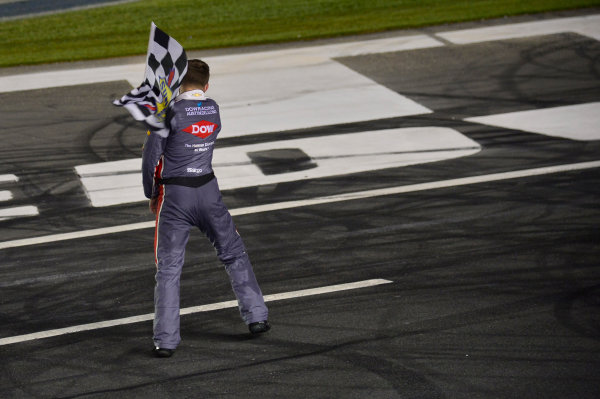 Monster Energy NASCAR Cup Series Coca-Cola 600 Charlotte Motor Speedway, Concord, NC USA Monday 29 May 2017 Austin Dillon, Richard Childress Racing, Dow Salutes Veterans Chevrolet SS, Celebrates after winning the Coke 600. World Copyright: David Yeazell LAT Images ref: Digital Image 17CLT2jh_04528