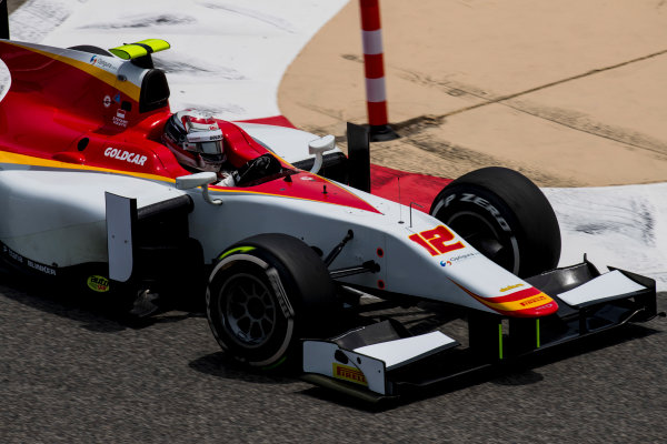 2017 FIA Formula 2 Round 1. Bahrain International Circuit, Sakhir, Bahrain.  Friday 14 April 2017. Stefano Coletti (MON, Campos Racing)  Photo: Zak Mauger/FIA Formula 2. ref: Digital Image _56I9496
