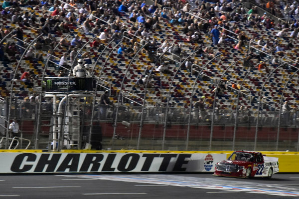 NASCAR Camping World Truck Series North Carolina Education Lottery 200 Charlotte Motor Speedway, Concord, NC USA Friday 19 May 2017 Austin Self, Accu-Tech\Snap Track\Don't Mess With Texas Toyota Tundra World Copyright: Nigel Kinrade LAT Images ref: Digital Image 17CLT1nk04176