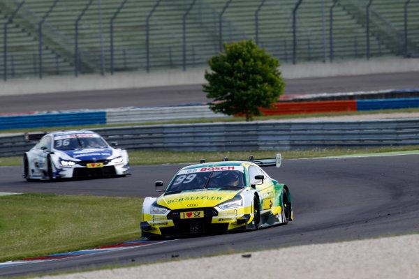 2017 DTM Round 2 Lausitzring, Germany. Sunday 21 May 2017. Mike Rockenfeller, Audi Sport Team Phoenix, Audi RS 5 DTM World Copyright: Alexander Trienitz/LAT Images ref: Digital Image 2017-DTM-R2-ESL-AT1-4490