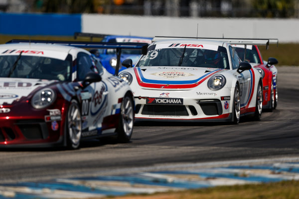 2017 Porsche GT3 Cup USA Sebring International Raceway, Sebring, FL USA Friday 17 March 2017 49, Sebastian Landy, GT3P, USA, 2017 Porsche 991 World Copyright: Jake Galstad/LAT Images ref: Digital Image lat-galstad-SIR-0317-14860