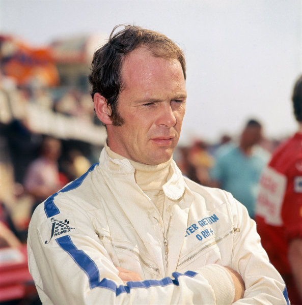 Zandvoort, Holland. 19th - 21st June 1970.Peter Gethin (McLaren M14A-Ford), retired, Portrait. World Copyright: LAT Photographic.Ref: Colour Transparency.