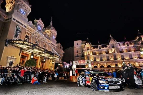 www.sutton-images.com -  Sebastien Ogier (FRA) / Julien Ingrassia (FRA), Volkswagen Polo R WRC at the FIA World Rally Championship, Rd1, Rally Monte Carlo, Opening Stages, Monte Carlo, 22 January 2015. Photo Sutton Images