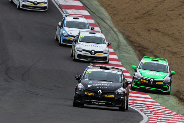 2014 Renault Clio Cup,  Brands Hatch, Kent. 10th - 12th October 2014. Paul Rivett (GBR) WDE Motorsport Renault Clio Cup. World Copyright: Ebrey / LAT Photographic.