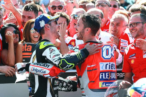 Cal Crutchlow, Team LCR Honda, Andrea Dovizioso, Ducati Team.