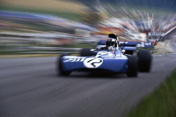 François Cevert, Tyrrell 002 Ford.