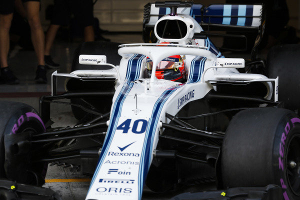 Robert Kubica, Williams FW41 Mercedes.