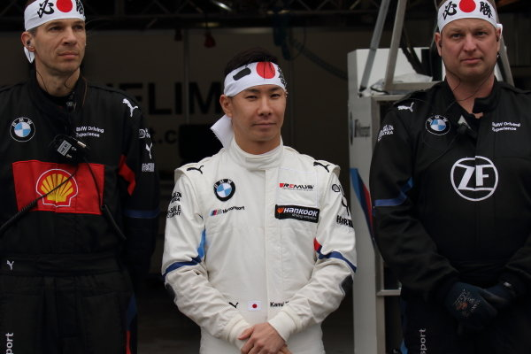 Super GT - DTM Dream Race. Kamui Kobayashi, BMW Team RBM, BMW M4 Turbi DTM, ahead of race one