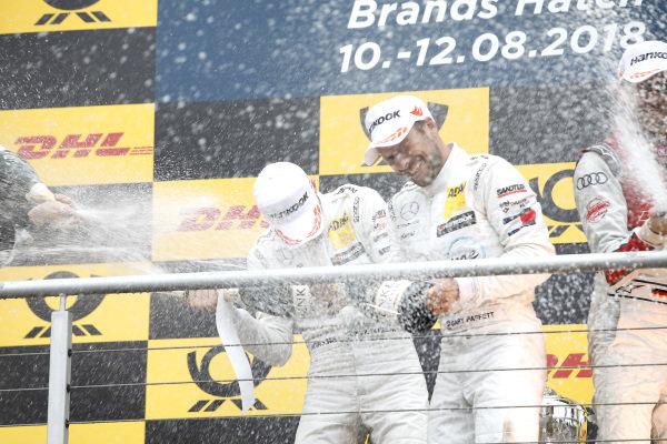 Podium: Paul Di Resta, Mercedes-AMG Team HWA and Gary Paffett, Mercedes-AMG Team HWA.