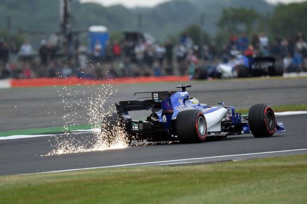 Marcus Ericsson (SWE) Sauber C36 at Formula One World Championship, Rd10, British Grand Prix, Qualifying, Silverstone, England, Saturday 15 July 2017.