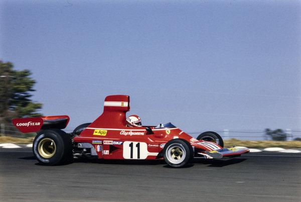 Clay Regazzoni, Ferrari 312B3.