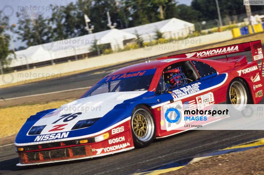 Eric van de Poele / Paul Gentilozzi / Syunji Kasuya, Clayton Cunningham Racing Inc, Nissan 300 ZX V6.