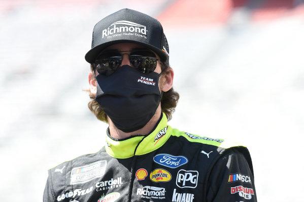 Ryan Blaney, Team Penske Ford Menards/Richmond, Copyright: Jared C. Tilton/Getty Images.