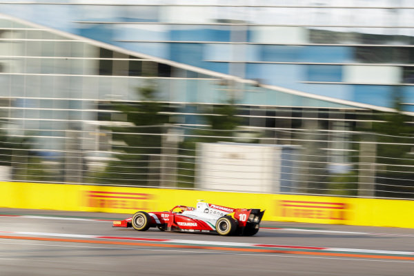 SOCHI AUTODROM, RUSSIAN FEDERATION - SEPTEMBER 28: Sean Gelael (IDN,PREMA RACING) during the Sochi at Sochi Autodrom on September 28, 2019 in Sochi Autodrom, Russian Federation. (Photo by Carl Bingham / LAT Images / FIA F2 Championship)