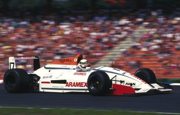 Paul Stewart (GB) Paul Stewart Racing.International Formula 3000 Championship. Hockenheim, Germany. 25 July 1992.