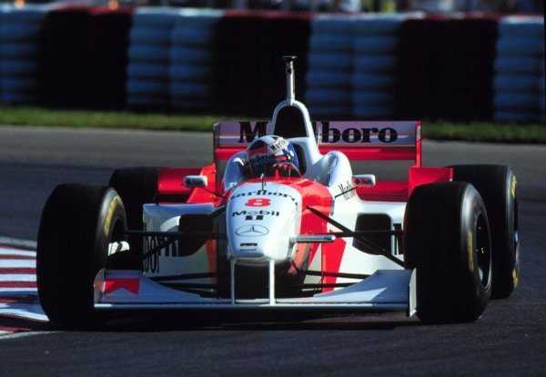 1996 Canadian Grand Prix.Montreal, Quebec, Canada.14-16 June 1996.David Coulthard (McLaren MP4/11 Mercedes-Benz) 4th position.World Copyright - LAT Photographic