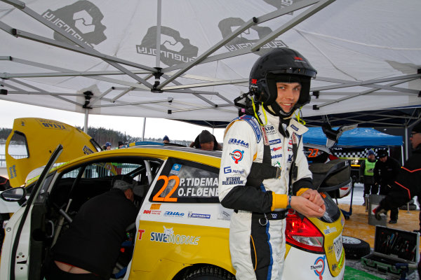 2013 FIA World Rally Championship Round 02-Rally Sweden 07-10 Februari 2013. Pontus Tideman, Ford WRC, Portrait.. Worldwide Copyright: McKlein/LAT