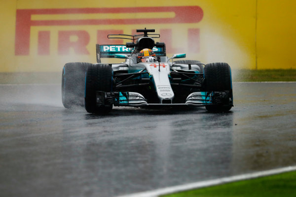 Suzuka Circuit, Japan. Friday 06 October 2017. Lewis Hamilton, Mercedes F1 W08 EQ Power+. World Copyright: Steven Tee/LAT Images  ref: Digital Image _R3I6783