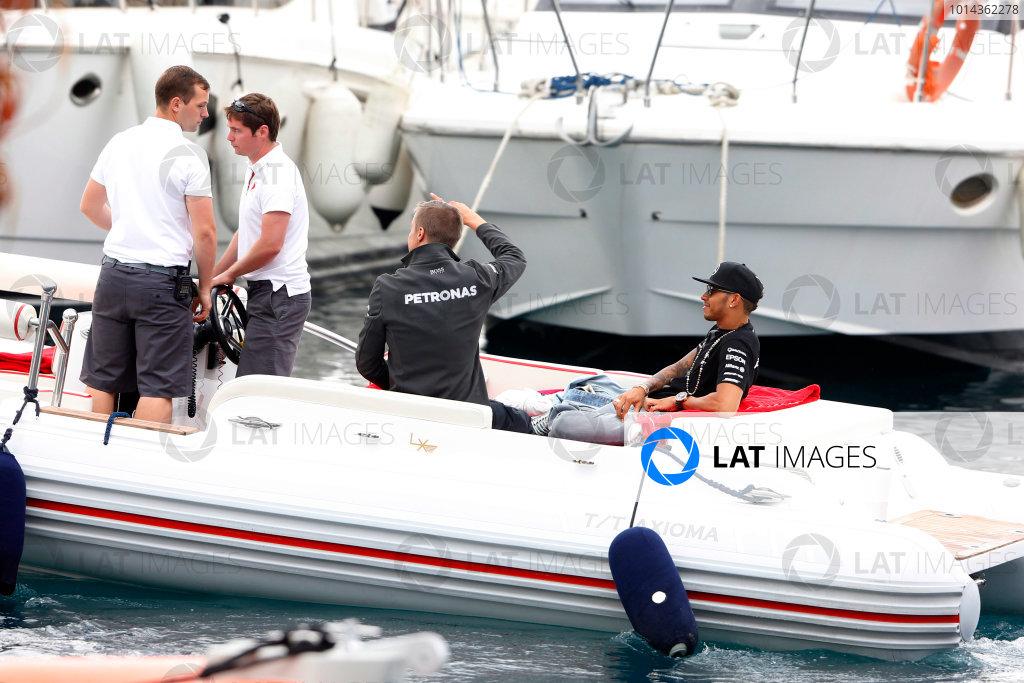 Monte Carlo, Monaco. Saturday 23 May 2015. World Copyright: Charles Coates/LAT Photographic. ref: Digital Image _J5R5093