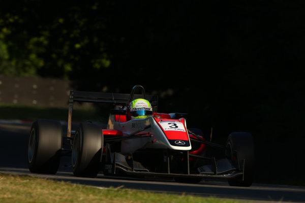 2013 British Formula 3 International Series, Brands Hatch, Kent. 9th - 11th August 2013. Will Buller (GBR) Fortec Motorsports Dallara Mercedes. World Copyright: Ebrey / LAT Photographic.