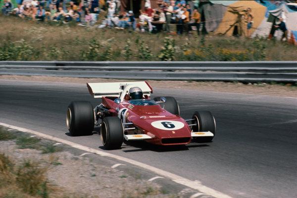 1971 Canadian Grand Prix.  Mosport, Canada. 17-19th September 1971.  Mario Andretti, Ferrari 312B2.  Ref: 71CAN30. World Copyright: LAT Photographic