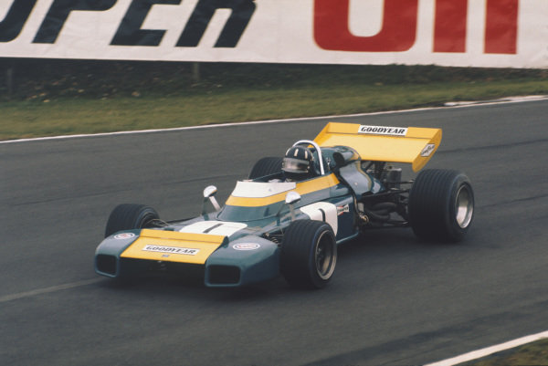 1971 Race of Champions.  Brands Hatch, England. 21st March 1971.  Graham Hill, Brabham BT34 Ford.  Ref: 71ROC34. World Copyright: LAT Photographic