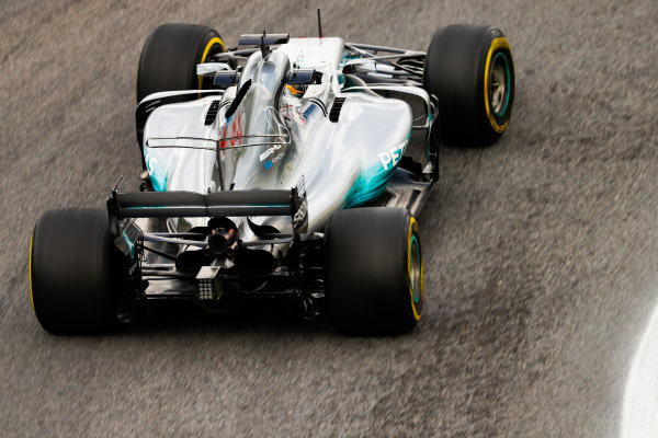 Interlagos, Sao Paulo, Brazil. Friday 10 November 2017. Lewis Hamilton, Mercedes F1 W08 EQ Power+. World Copyright: Glenn Dunbar/LAT Images  ref: Digital Image _31I9777