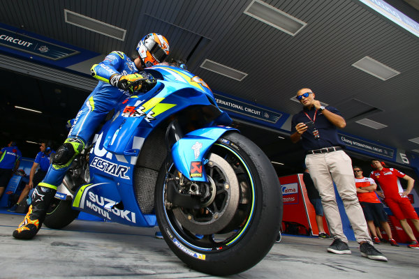 2018 MotoGP Championship - Buriram test, Thailand Saturday 17 February 2018 Alex Rins, Team Suzuki MotoGP World Copyright: Gold and Goose / LAT Images ref: Digital Image 710284