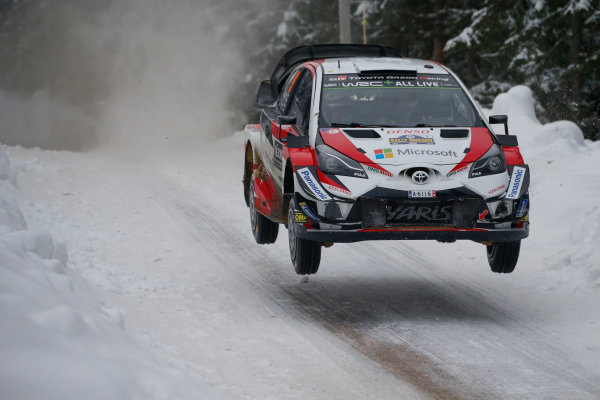 2018 FIA World Rally Championship, Round 02, Rally Sweden 2018, February 15-18, 2018. Esapekka Lappi, Toyota, Action Worldwide Copyright: McKlein/LAT