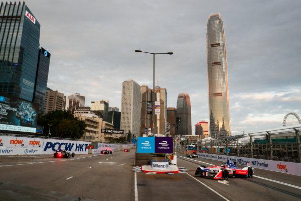 2017/2018 FIA Formula E Championship. Round 1 - Hong Kong, China. Saturday 02 December 2017. Nick Heifeld (GER), Mahindra Racing, Mahindra M4Electro. Photo: Sam Bloxham/LAT/Formula E ref: Digital Image _J6I3766