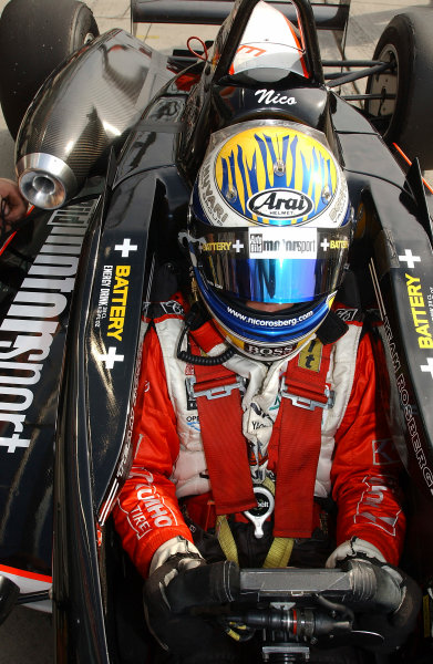 2004 Formula Three EuroseriesNurburgring, Germany. 31st July - 1st August 2004Race 1 winner Nico Rosberg (Team Rosberg), in the cockpit.Wold Copyright : Andre Irlmeier / LAT Photographicref: Digital Image Only