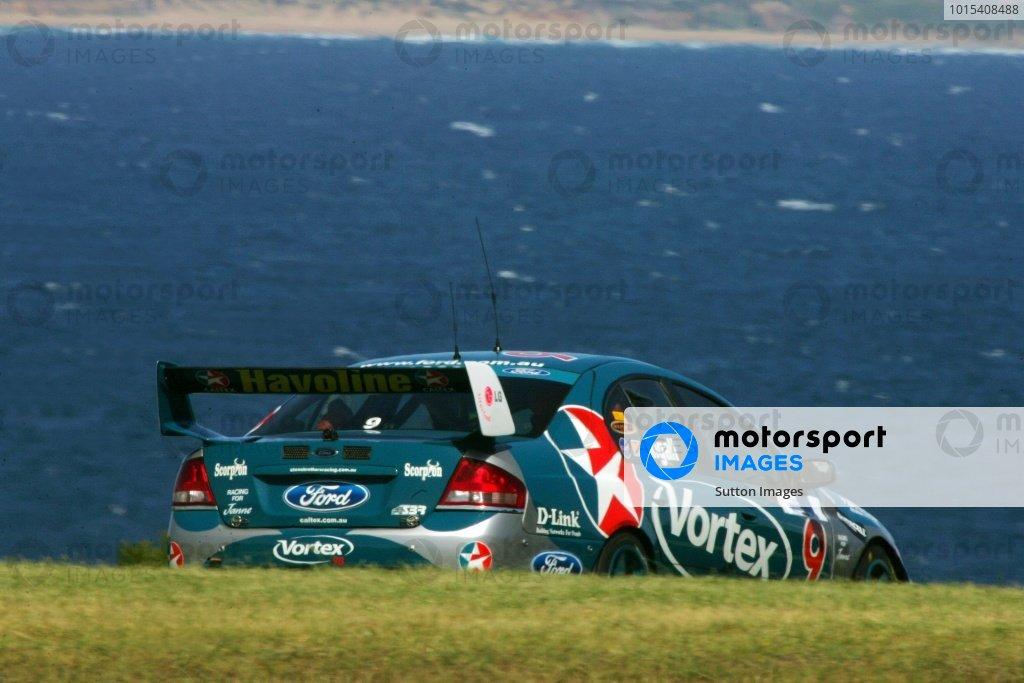 Russell Ingall (AUS) Caltex Ford Australian V8 Supercar Championship, Rd13, Philip Island, Australia, 27 November 2005. DIGITAL IMAGE