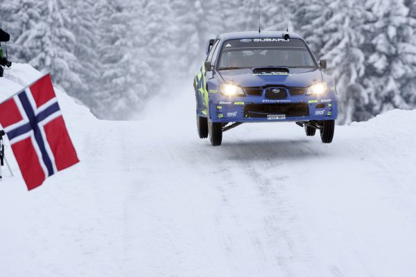 2007 FIA World Rally ChampionshipRound 3Rally of Norway 200715th - 18th February 2007Chris Atkinson, Subaru, Action.Worldwide Copyright: McKlein/LAT