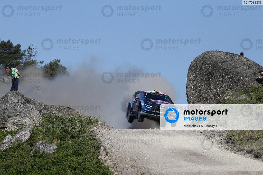 Gus Greensmith, M-Sport Ford, Ford Fiesta WRC 2019Ott Tänak, Toyota Gazoo Racing, Toyota Yaris WRC 2019