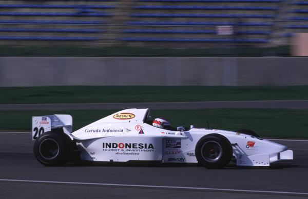 Silverstone, England. 22-23/3/2000. Ananda Mikola, World Racing Team. World Copyright: LAT Photographic.
