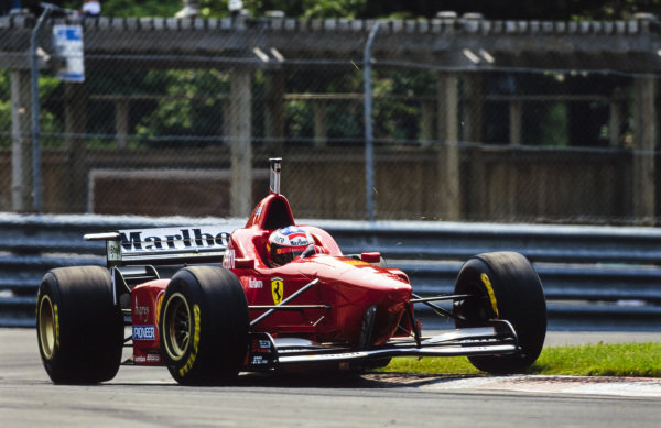 Michael Schumacher, Ferrari F310.