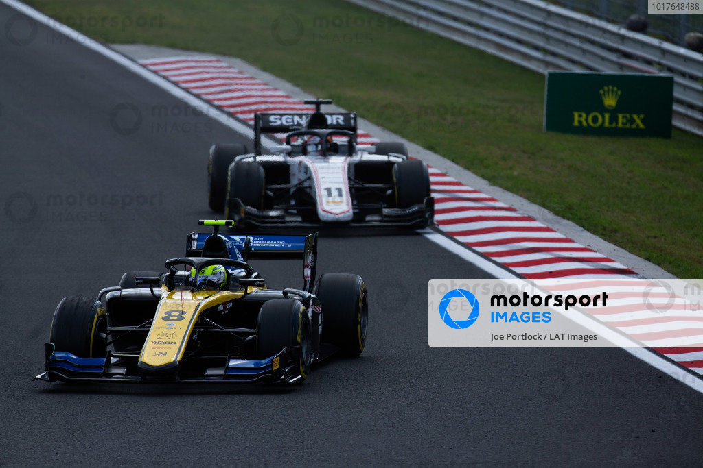 HUNGARORING, HUNGARY - AUGUST 04: Luca Ghiotto (ITA, UNI VIRTUOSI) during the Hungaroring at Hungaroring on August 04, 2019 in Hungaroring, Hungary. (Photo by Joe Portlock / LAT Images / FIA F2 Championship)