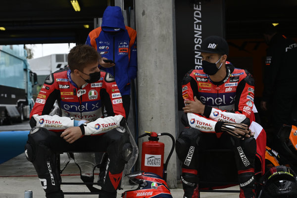 Tommaso Marcon, Tech 3 E-Racing, Lukas Tulovic, Tech 3 E-Racing.