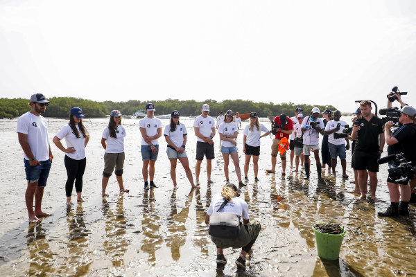 The Oceanium Mangrove Legacy Project Visit